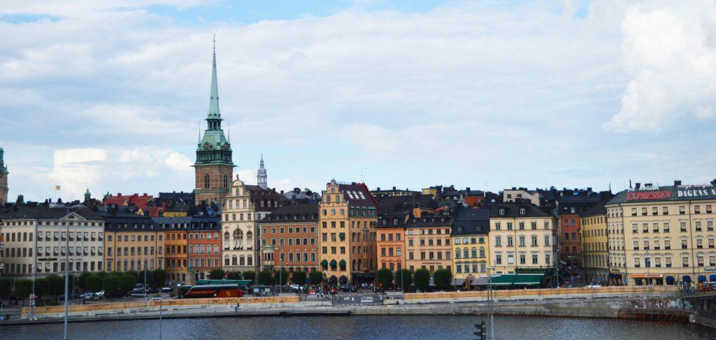 STOCKHOLM, LA BEAUTE SUR L'EAU