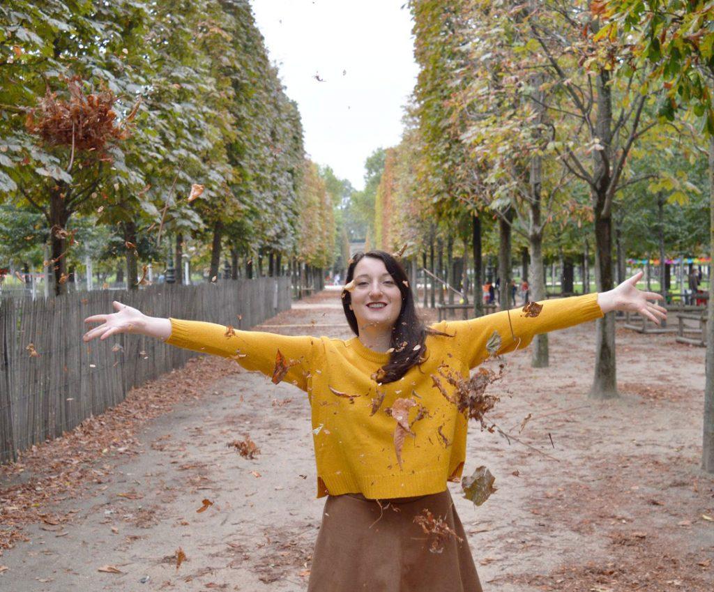 L'automne aux Tuileries