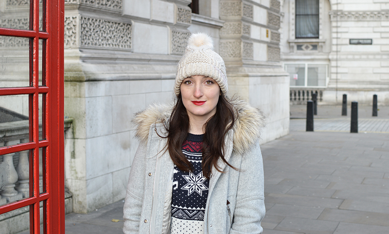 Christmas sweater in London