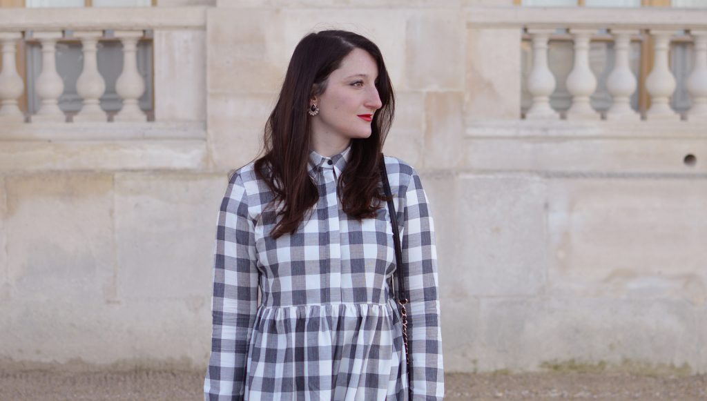 La robe vichy à Versailles