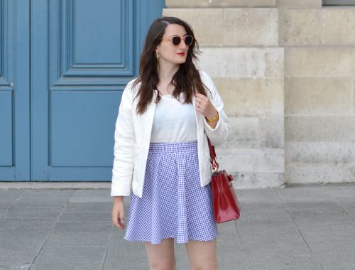 Blog_Sophiesmoods_Looks_Jupe_Vichy_Bleu_Et_Blanc_cover