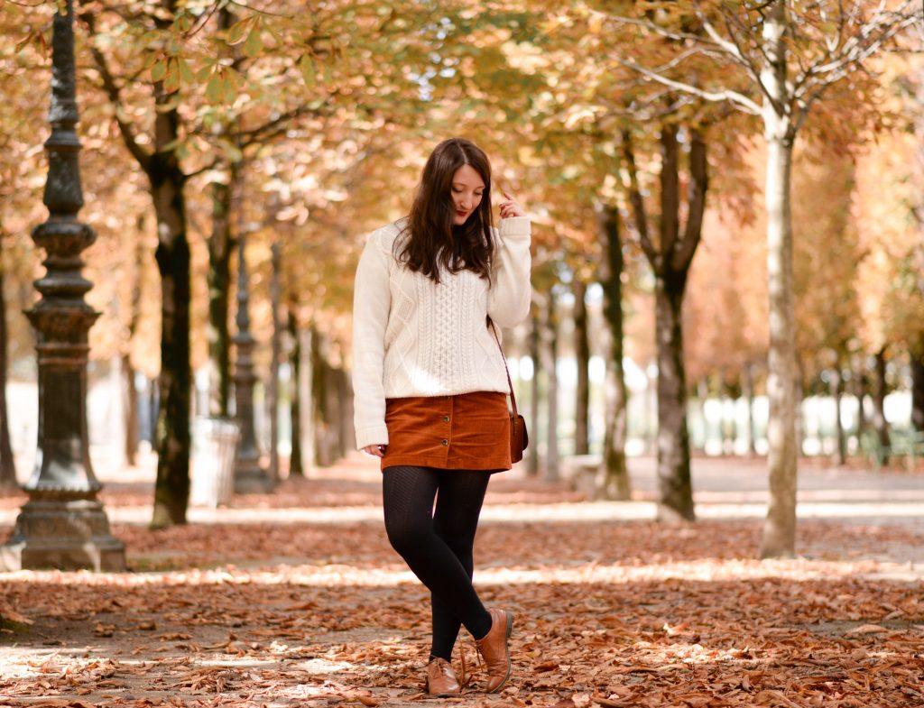 Le gros pull doudou et les jolies couleurs de l'automne
