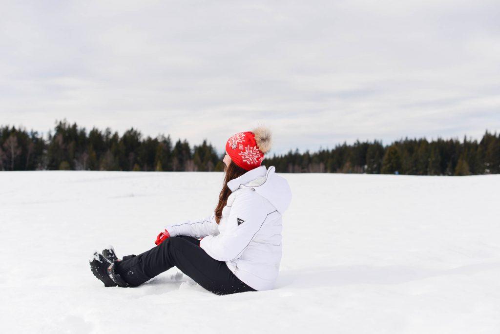 A la montagne : ski, raquettes & match de hockey (+VLOG)