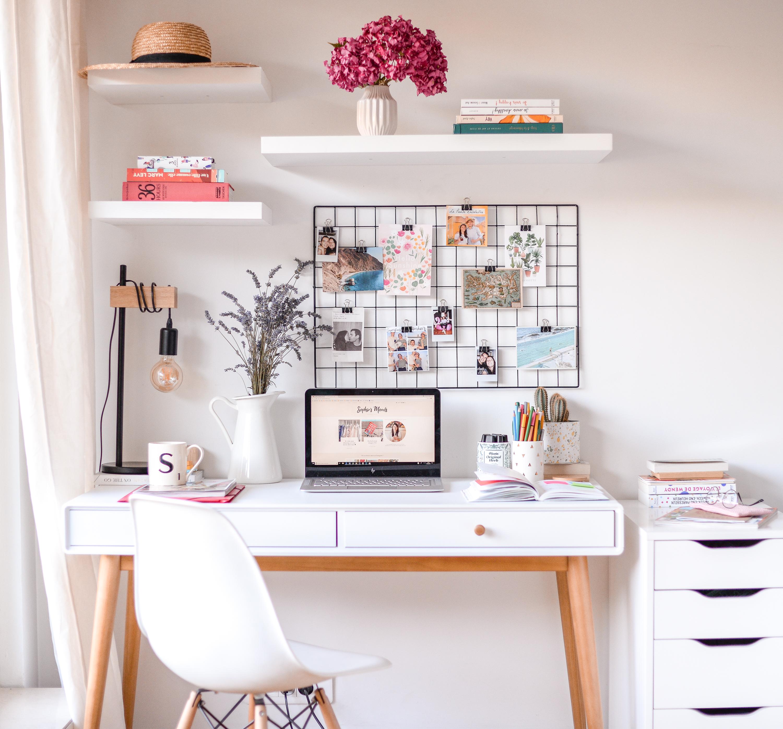 Mon coin bureau id al pour les petits espaces sophie 39 s moods - Coin bureau petit espace ...