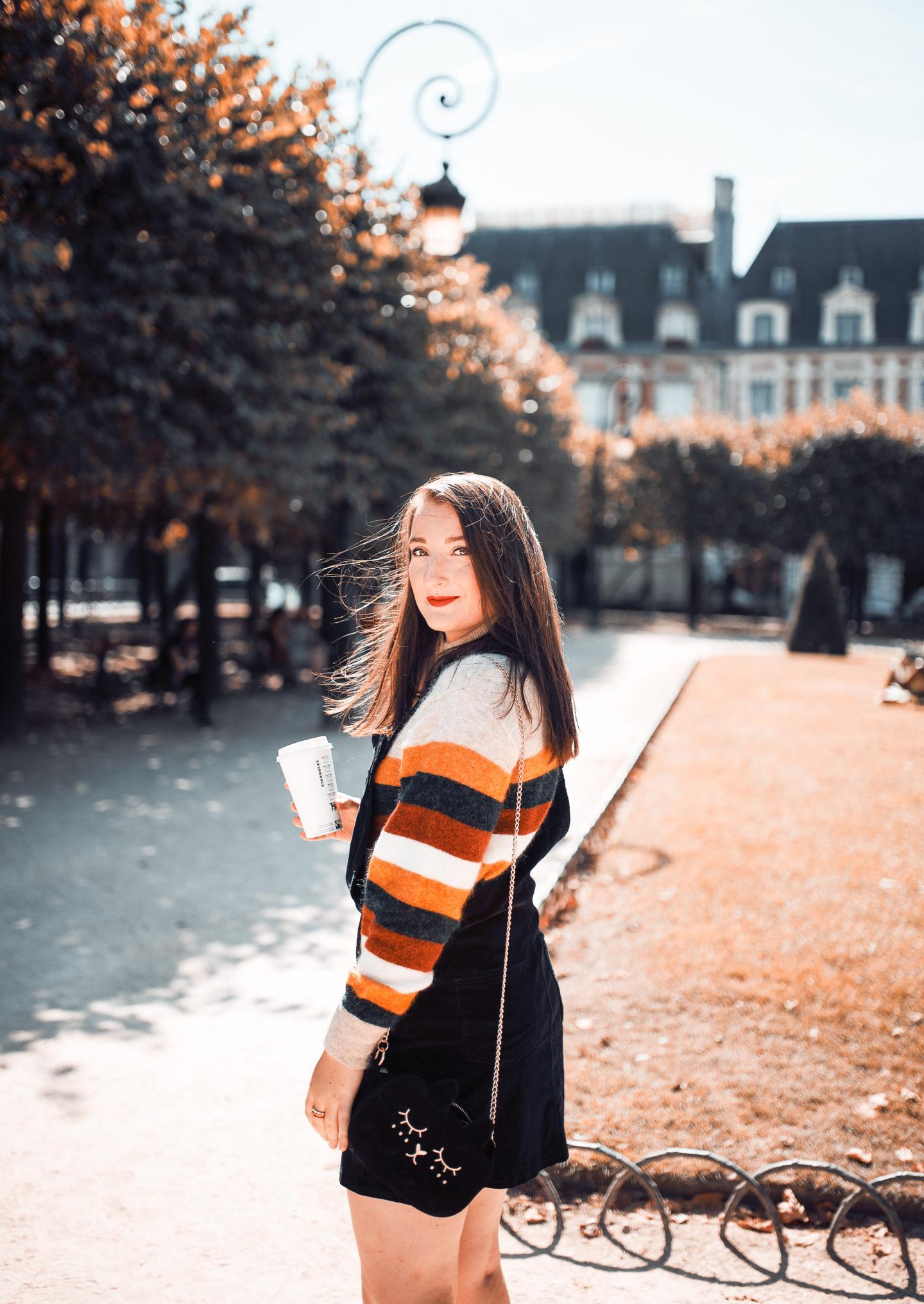 La robe salopette, version automne